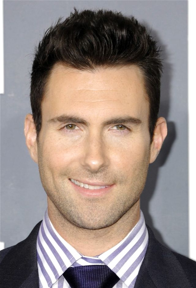 Adam Levine New Hairstyle