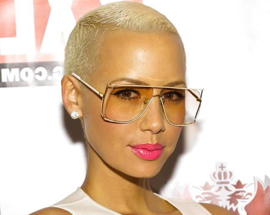 Fine Amber Rose New Hairstyle My Real Style Short Hairstyles For Black Women Fulllsitofus
