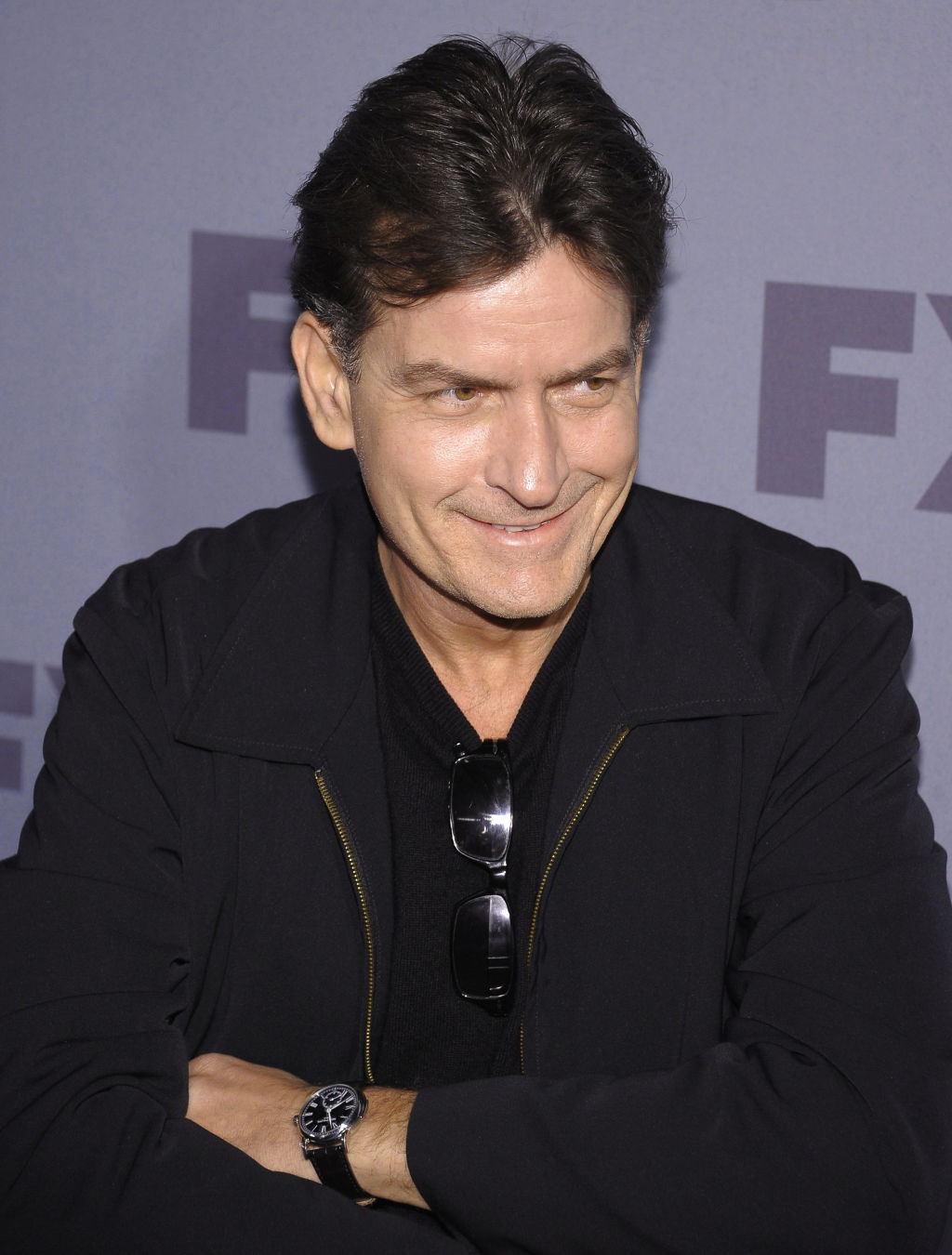 charlie sheen dad