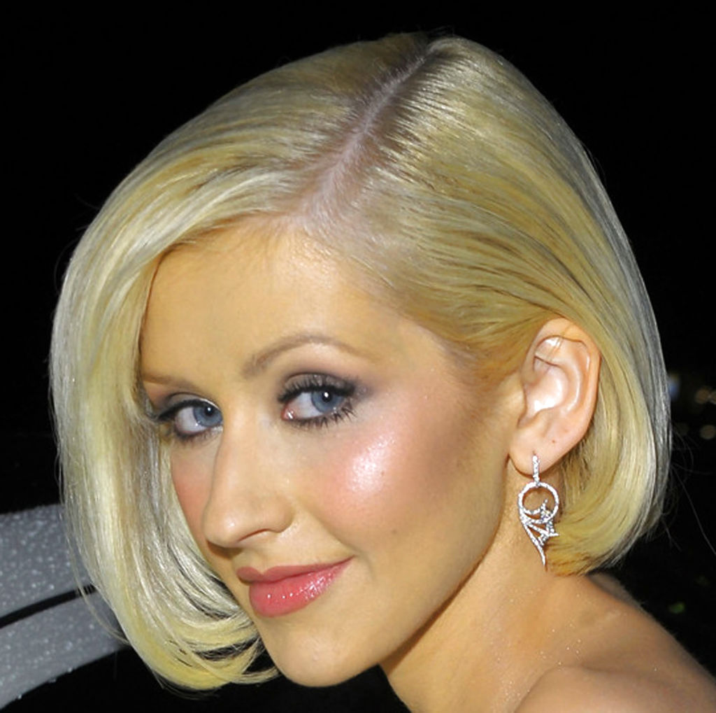Christina Aguilera New Haircut