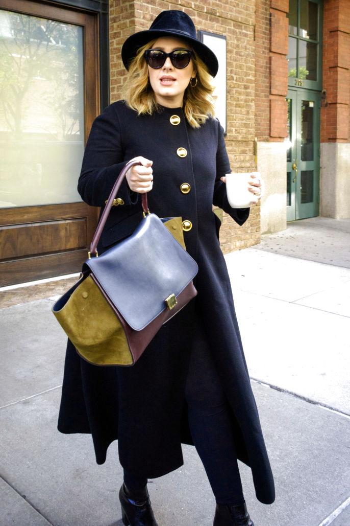 Adele Street Style Fashion