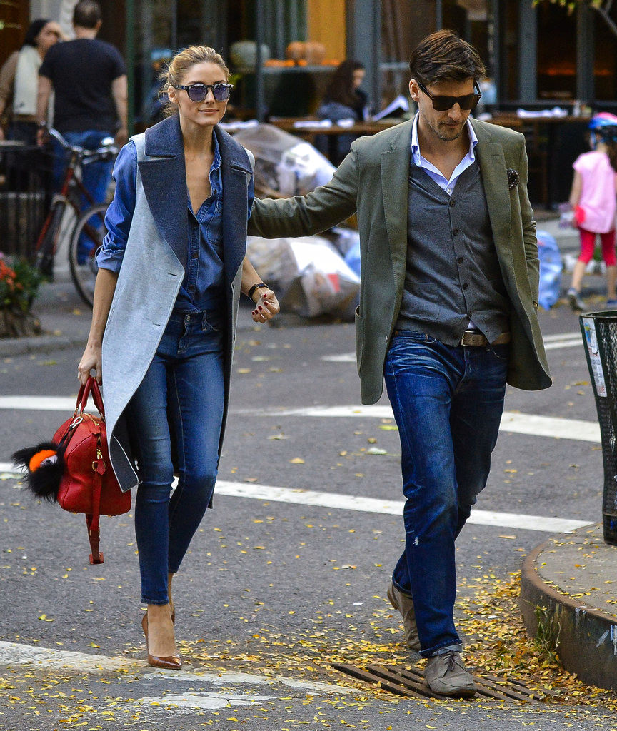 olivia palermo street style jeans