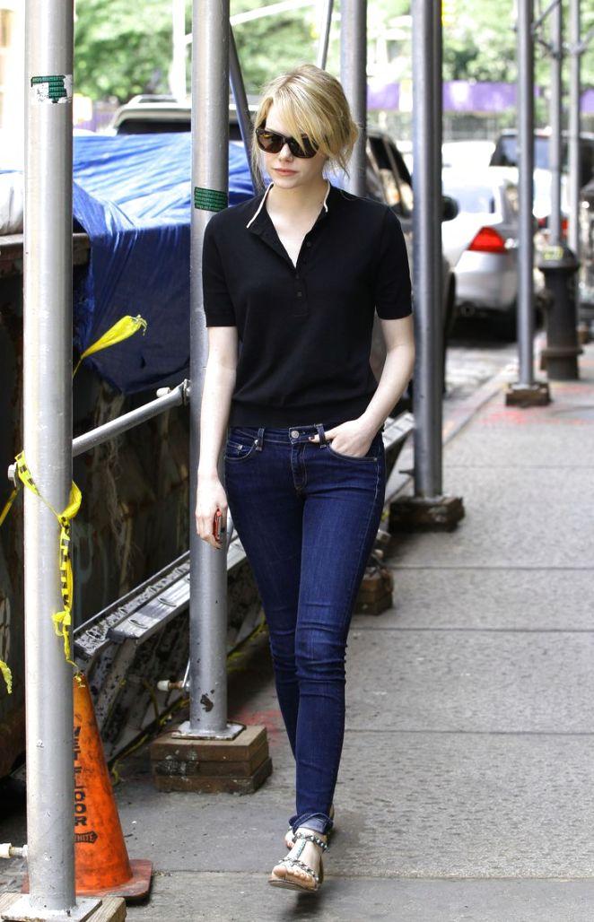 Emma Stone  Street Style