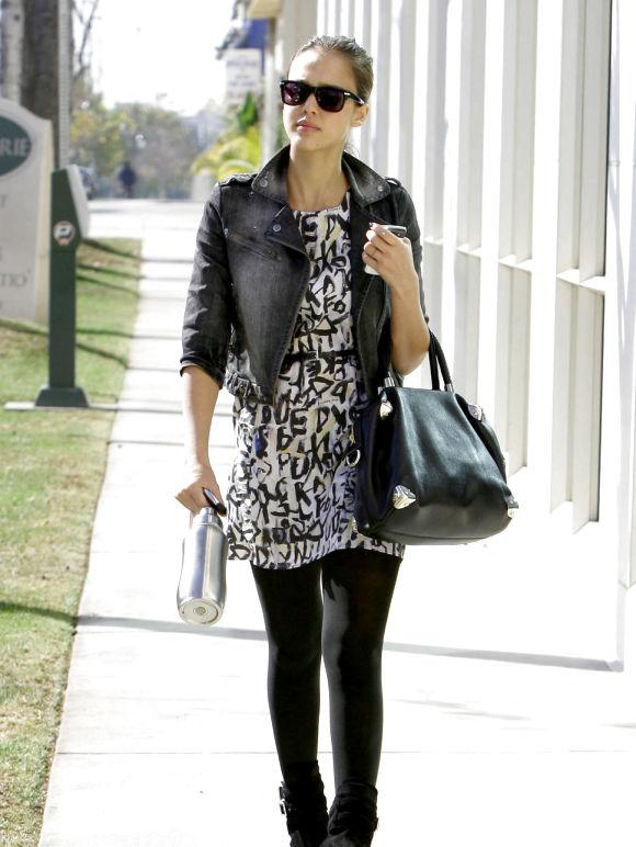 Jessica Alba Street Style My Real Style