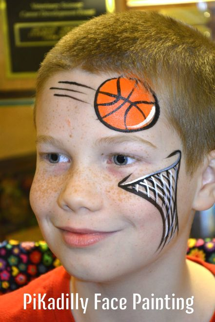 face painting ideas for sports