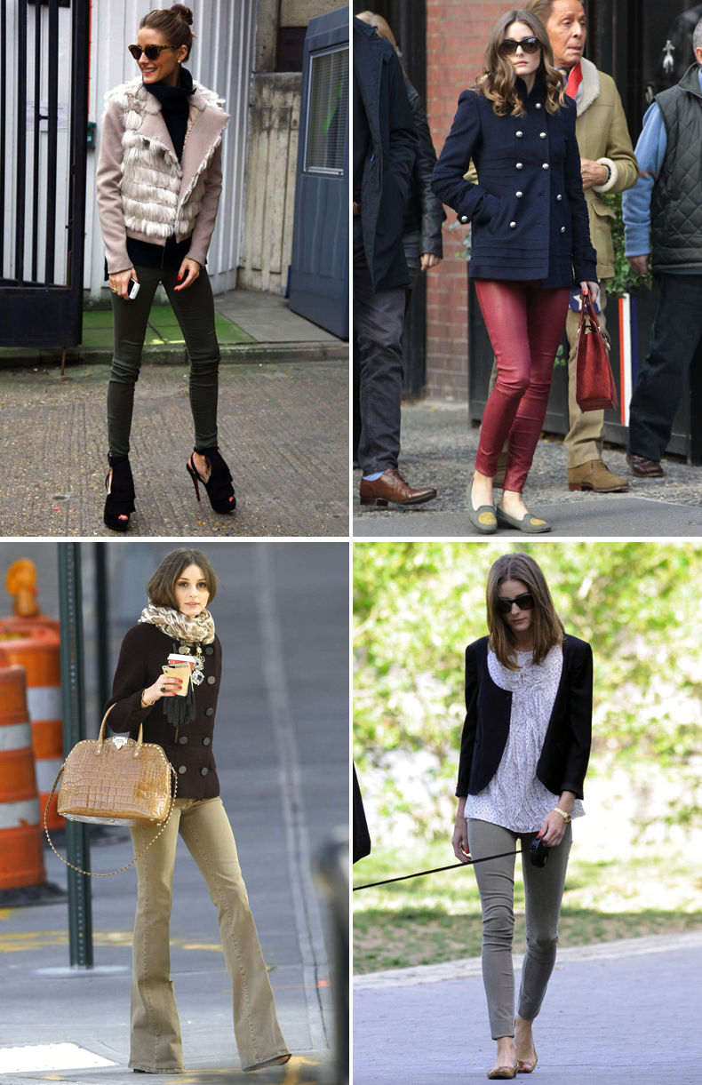 olivia palermo casual street style pinterest