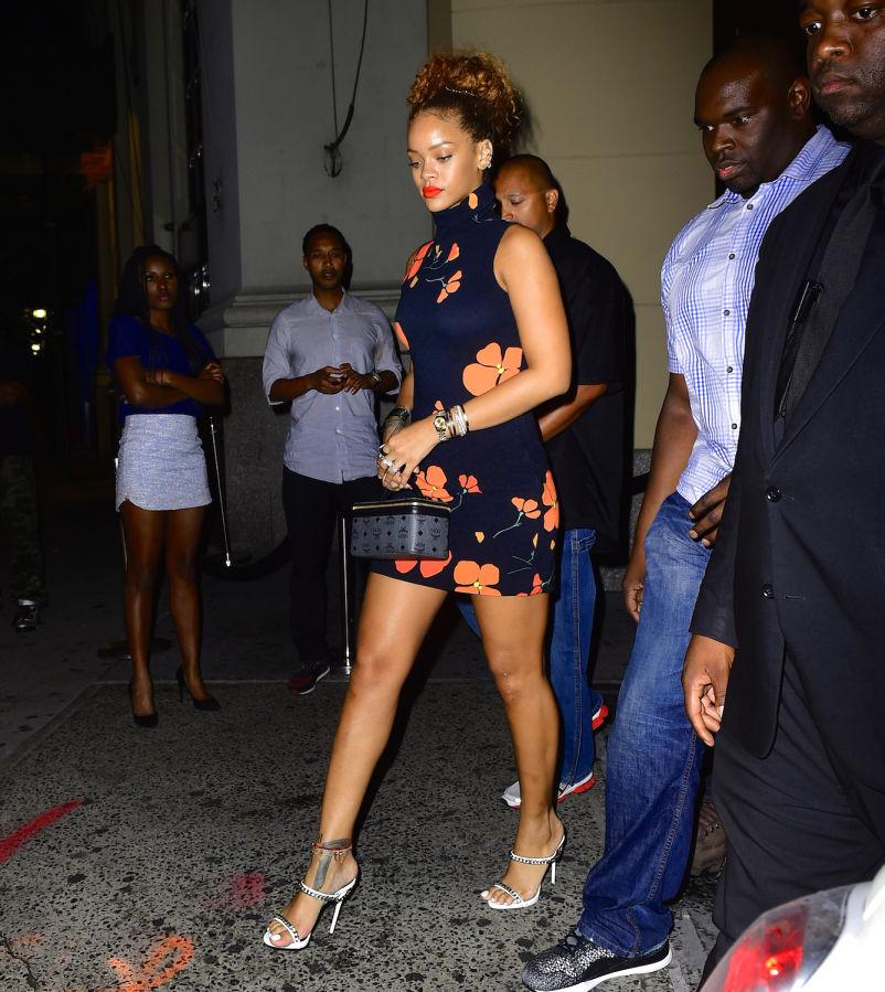 Rihanna Summer Street Style The Image