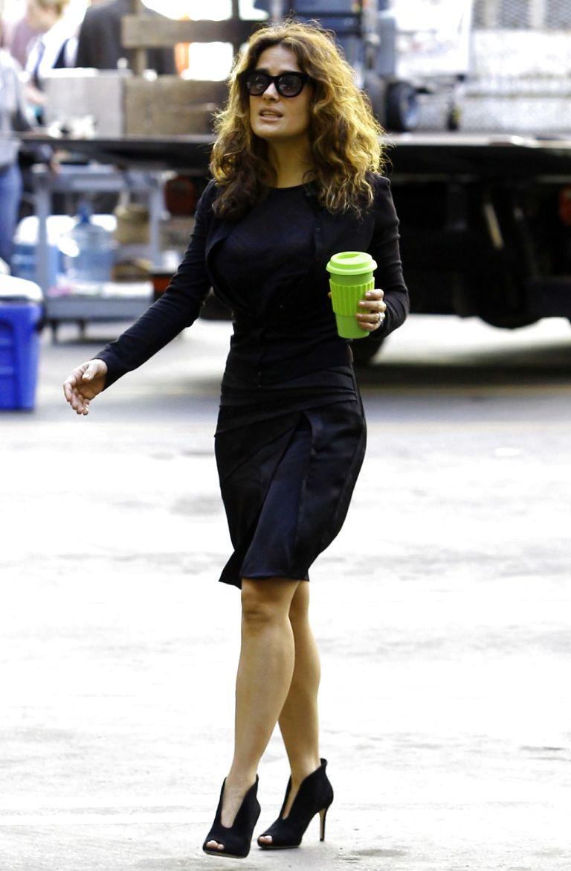Salma Hayek Street Style Fashion - My Real Style Salma Hayek Nuance