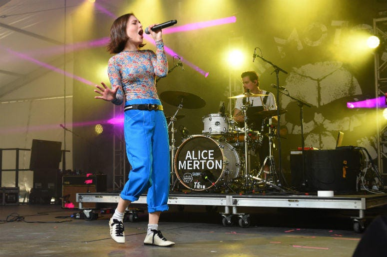 Alice Merton Lash Out